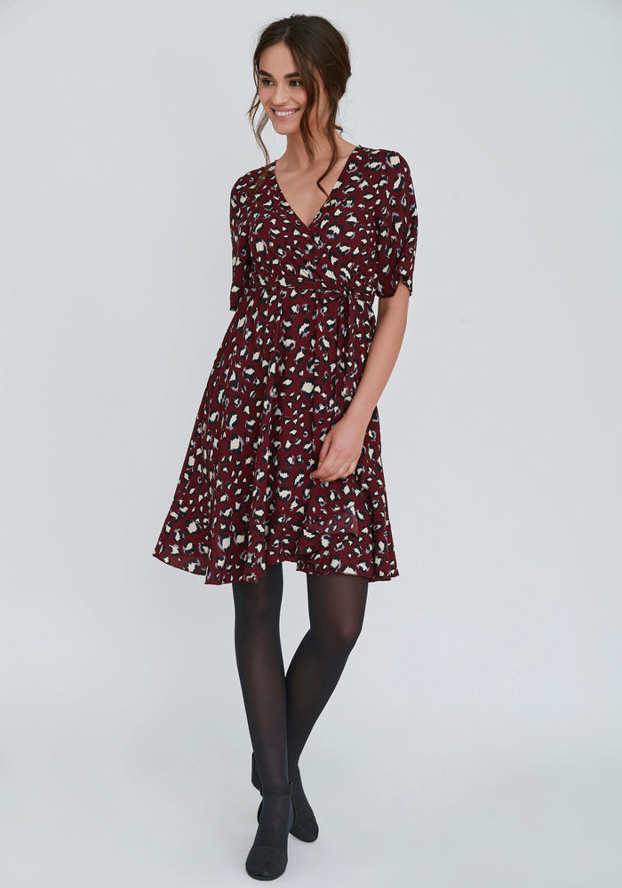 Dry Lake Nanna Leopard Dress,Dresses,Dry Lake,Ooh! Ruby Shoes