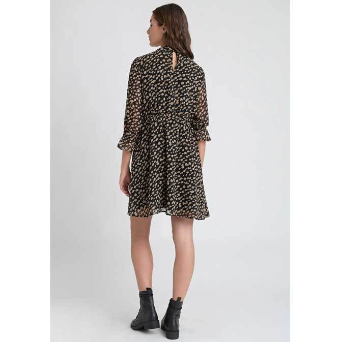 Dry Lake Jaxon Black Leopard Dress,Dresses,Dry Lake,Ooh! Ruby Shoes