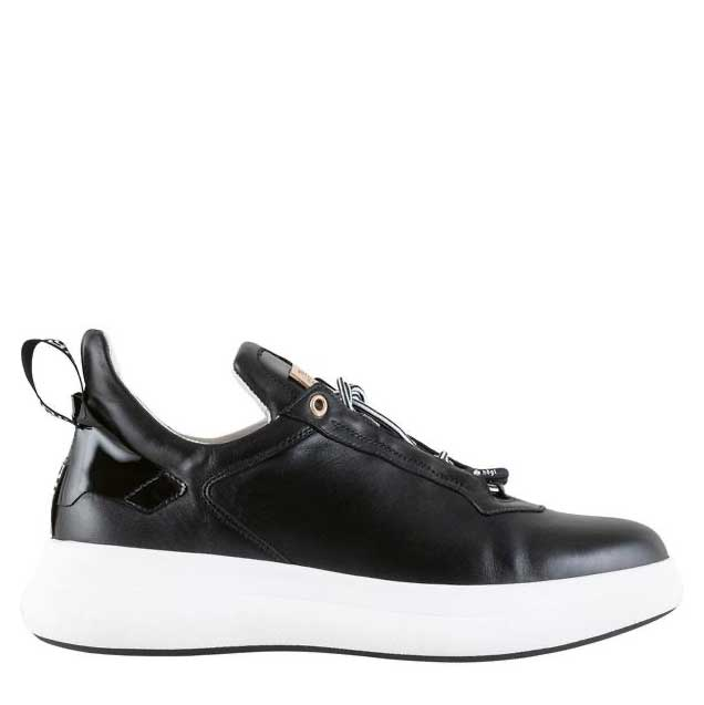 Hogl Black Leather Trainers