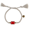 Candy Bracelet M grey band