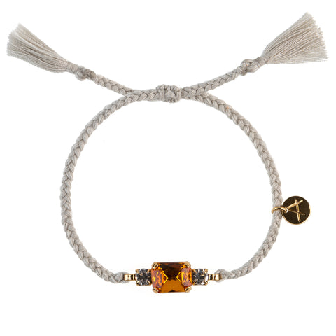 Candy Bracelet S grey band