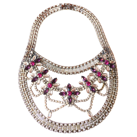 Matahari Collier - pink purple