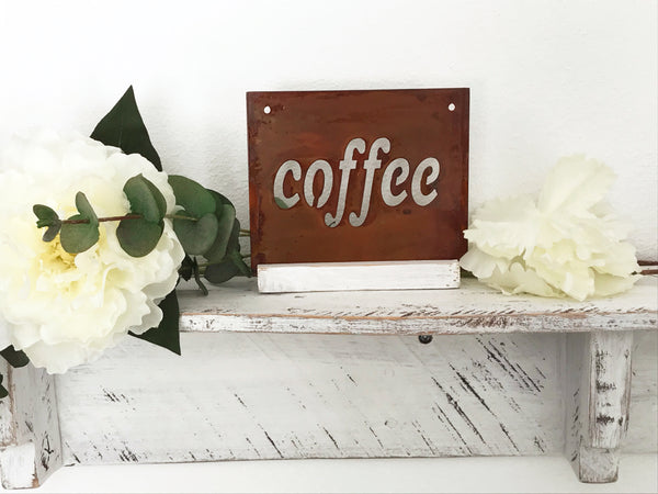 Coffee Mini sign