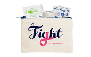 Surgical Drain Care Kit Fight Cosmetic Bag