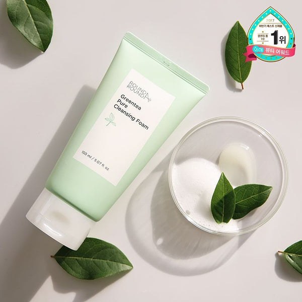 GREENTEA PURE CLEANSING FOAM