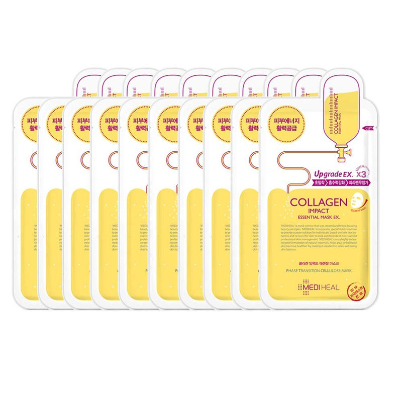 COLLAGEN IMPACT ESSENTIAL MASK EX. (10 MASKS)