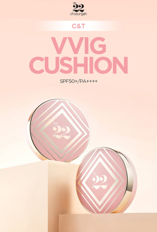 CHO SUNG AH C&T VVIG CUSHION SPF50+/PA++++ 25g