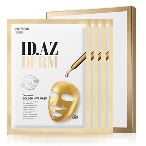 ID.AZ DERMASTIC GOLD-FIT MASK (PACK OF 4)