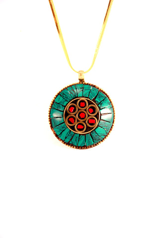 Tribal Pendant Necklace - Indiverve