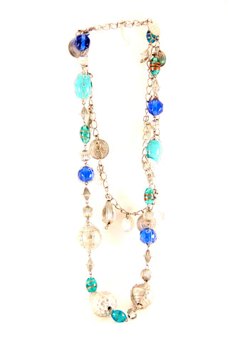 Beads and Charms Necklace - Indiverve