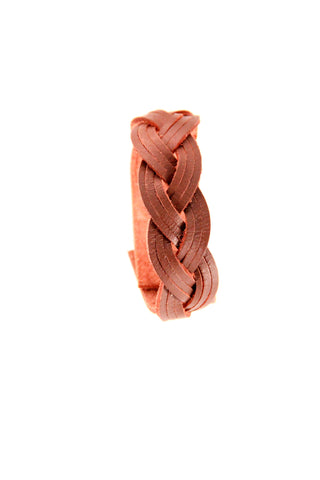 Braided Leather Bracelet - Indiverve