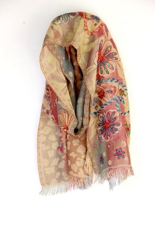 Paisley Print Scarf - Indiverve