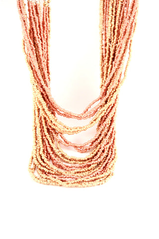 Copper Beaded Necklace - Indiverve
