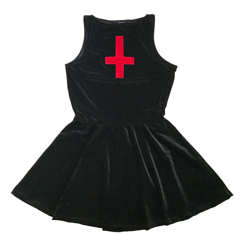 Antichrist Velvet Dress