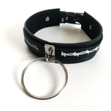 Barbed Wire Large Ring Choker