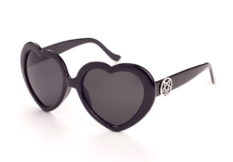 HEARTSHAPED PENTAGRAM SUNNIES