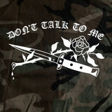 Don't Talk To Me Vintage Army Jacket