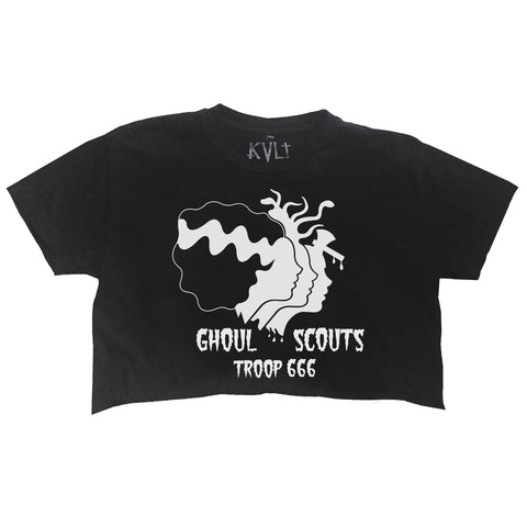 GHOUL SCOUTS CROP TOP