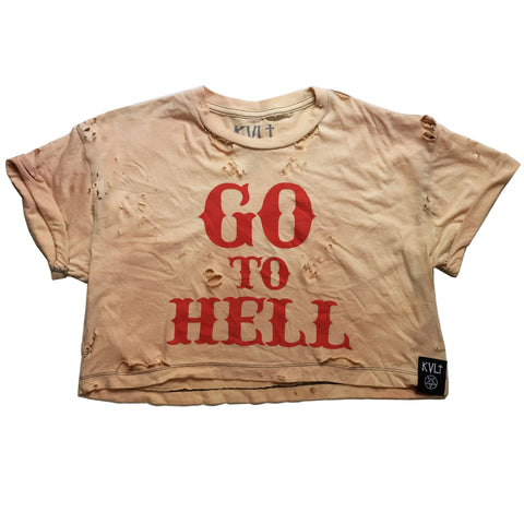 GO TO HELL VINTAGE CROP