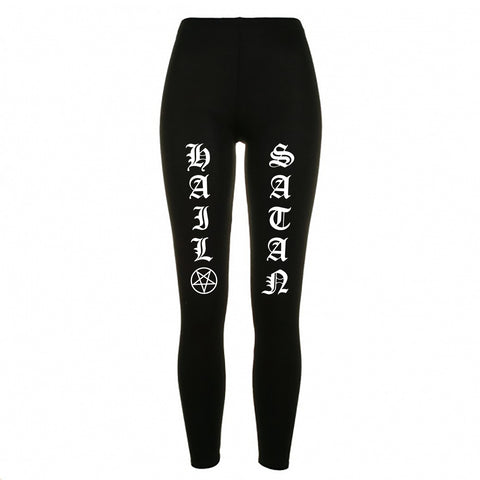 Hail Satan Legging