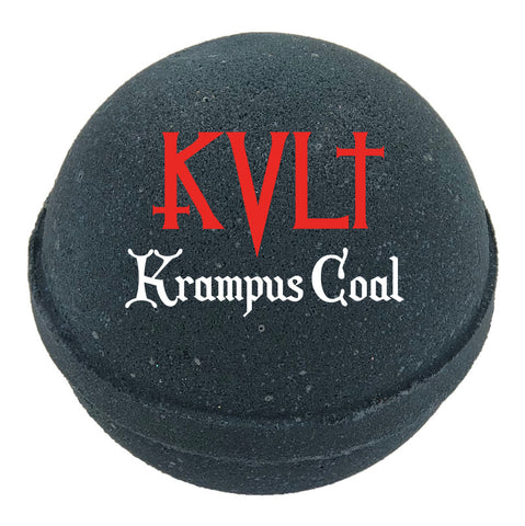 Krampus Coal Bath Bomb