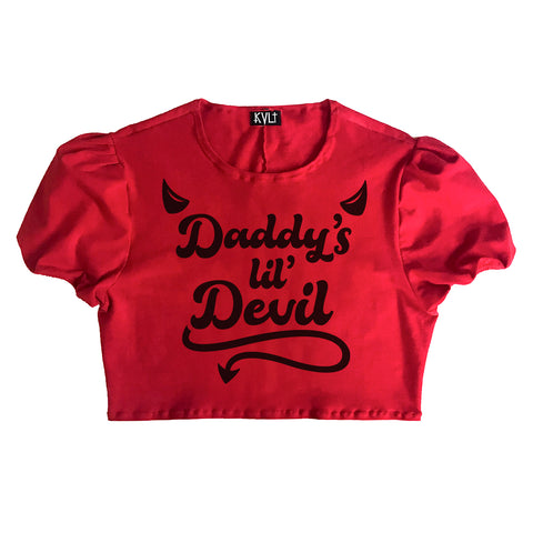 Daddy's Lil' Devil Crop
