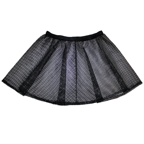 DARKER MY LOVE MESH SKIRT