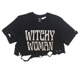 WITCHY WOMAN VINTAGE CROP