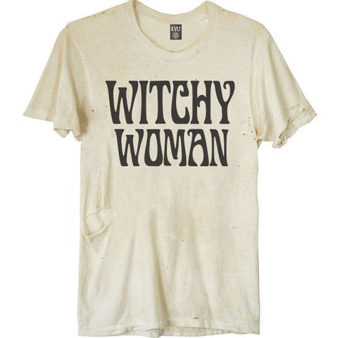 WITCHY WOMAN DESTROYED TEE