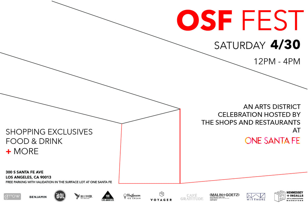 OSF FEST Arts District Celebration This Weekend