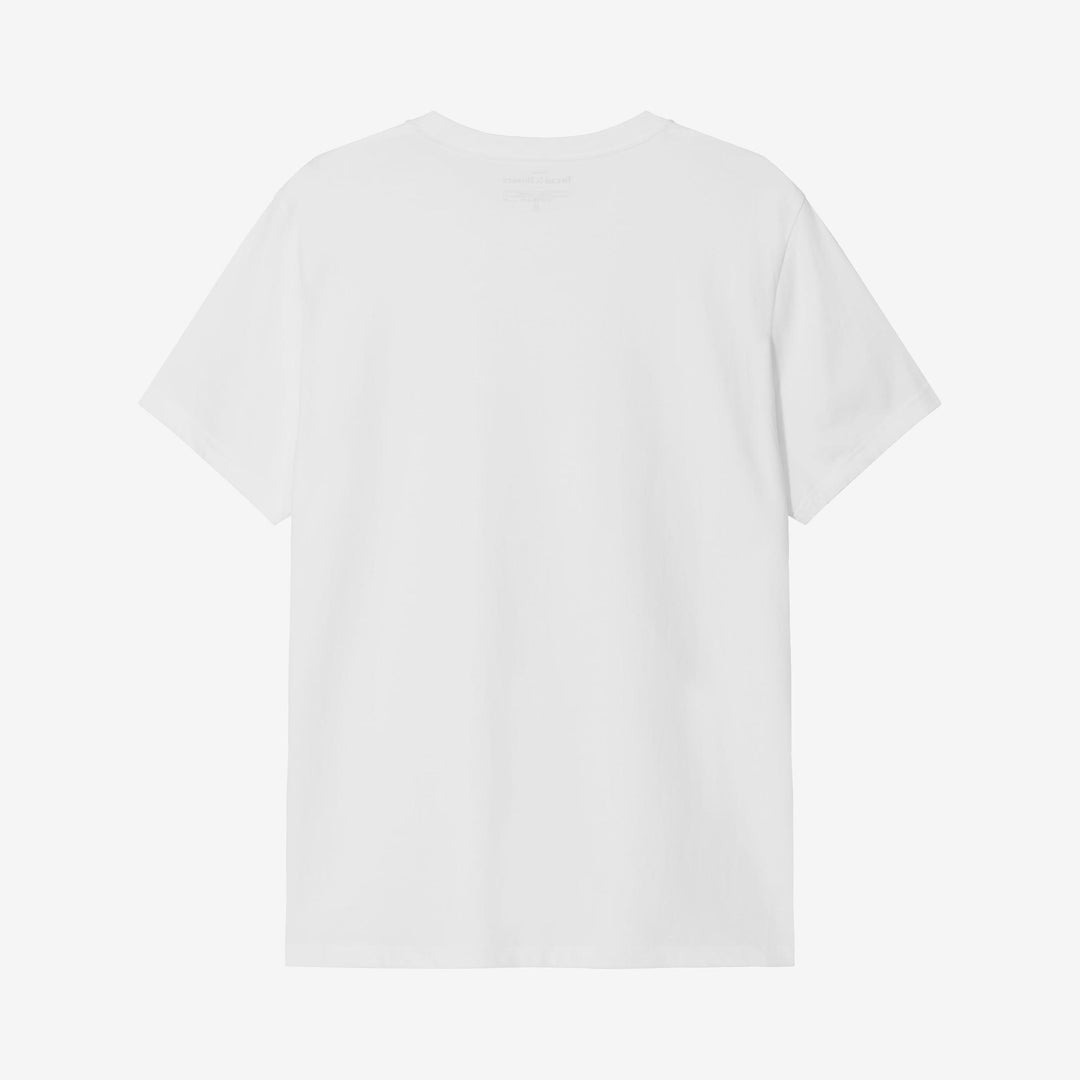 Bread and Boxers White Organic Cotton Crewneck T-Shirt