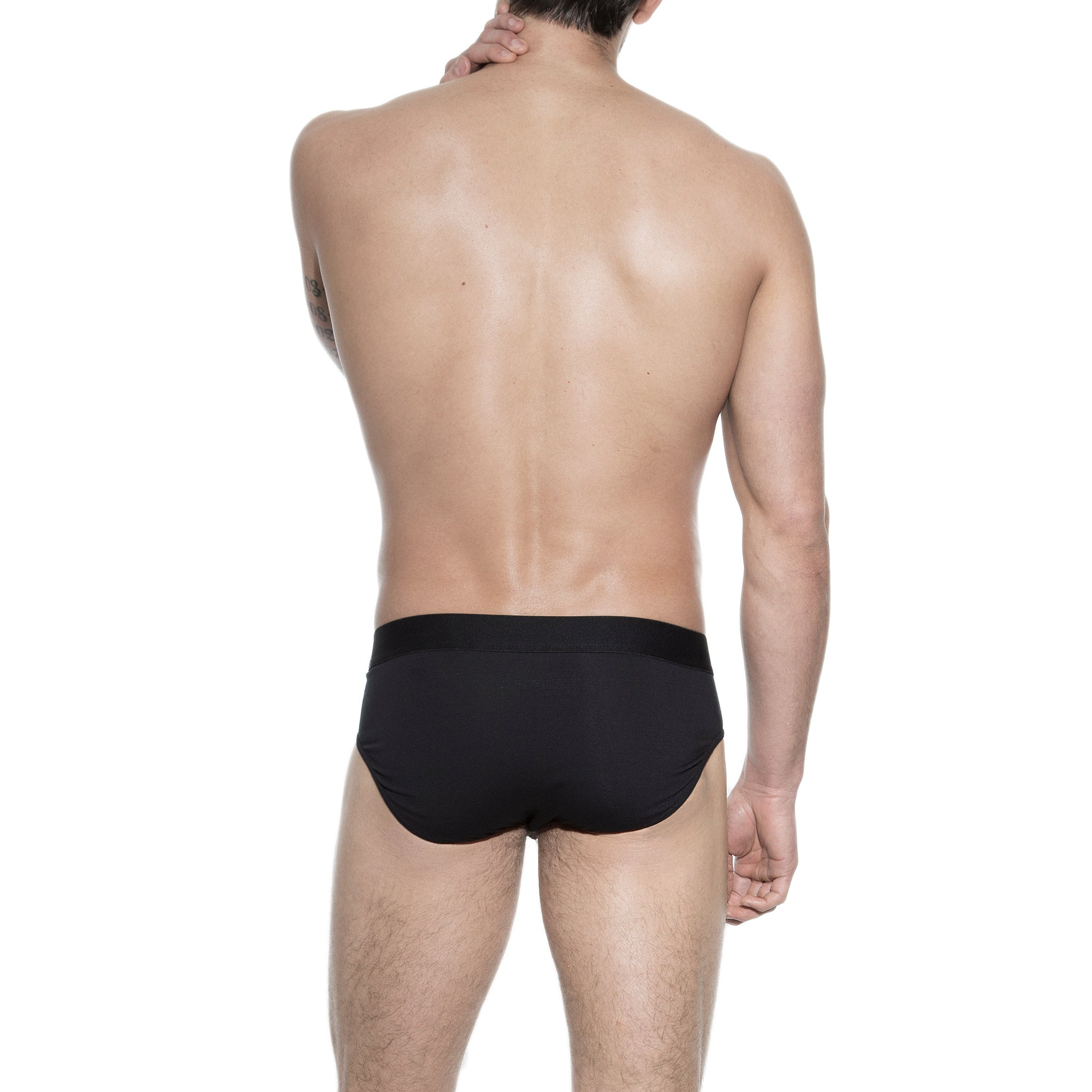 Bread and Boxers Black Brief