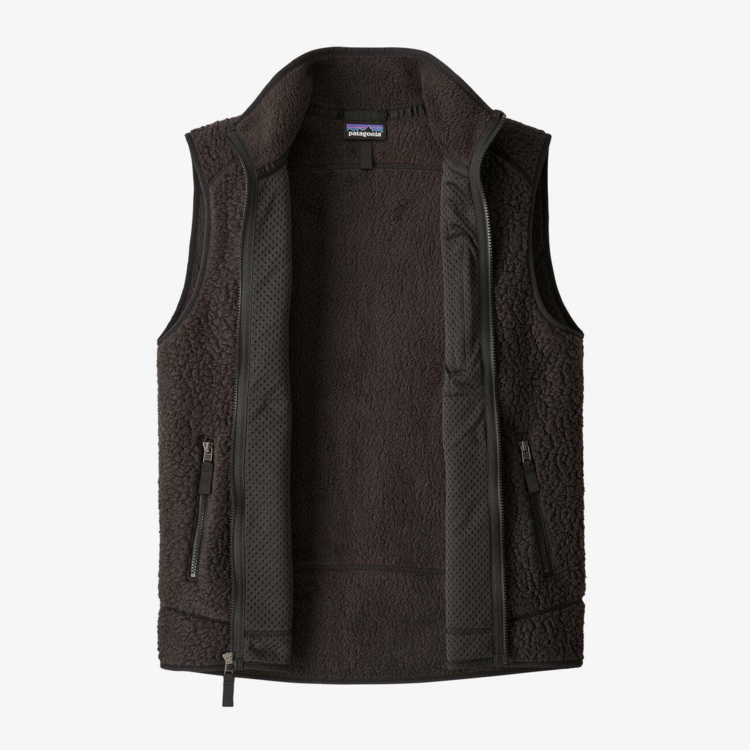 Patagonia Black Men's Retro Pile Fleece Vest