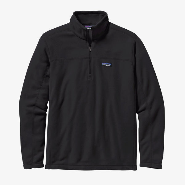 Patagonia Black Micro D Fleece Pullover