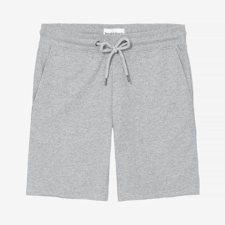 Bread and Boxers Grey Organic Cotton Lounge Shorts