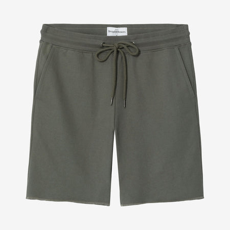 Bread and Boxers Olive Organic Cotton Lounge Shorts