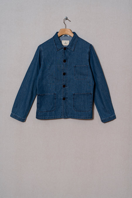 La Paz Denim Baptista Worker Chore Jacket