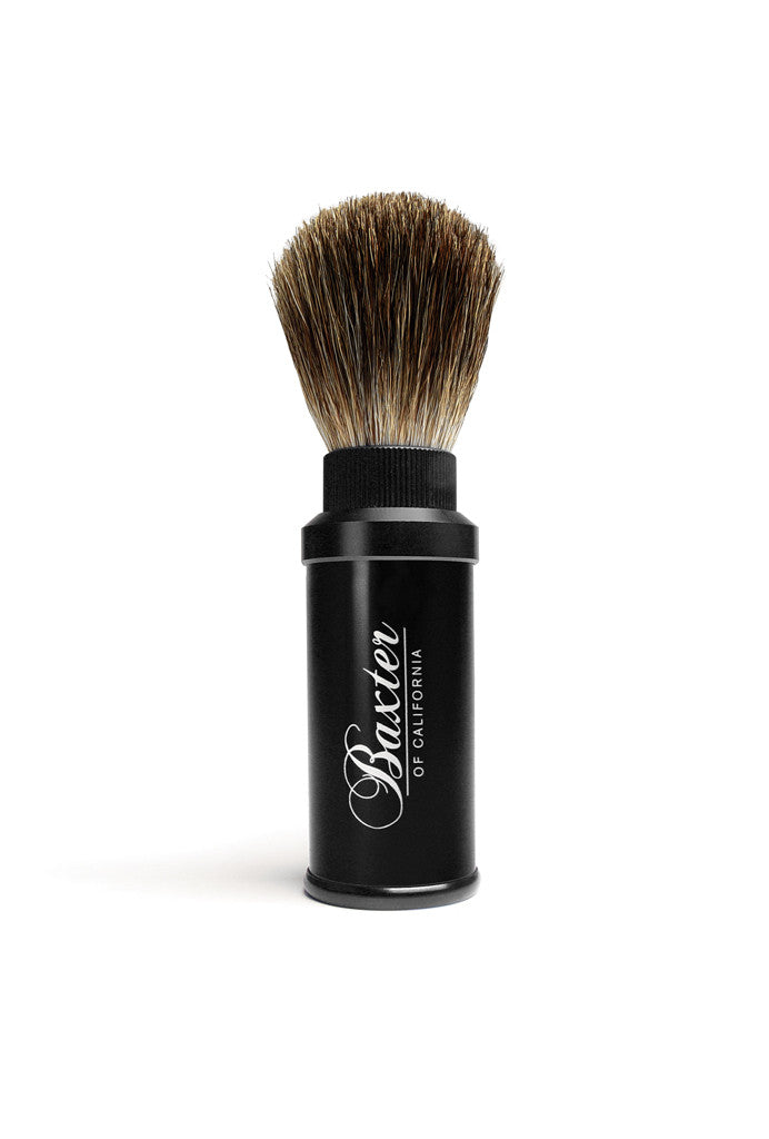 Baxter of California Badger Hair Travel Shave Brush