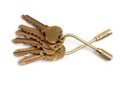 Craighill Brass Closed Helix Key Ring