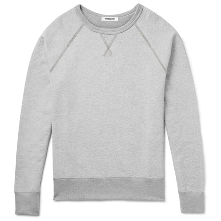 Hiro Clark Grey Flipped Crewneck Sweatshirt