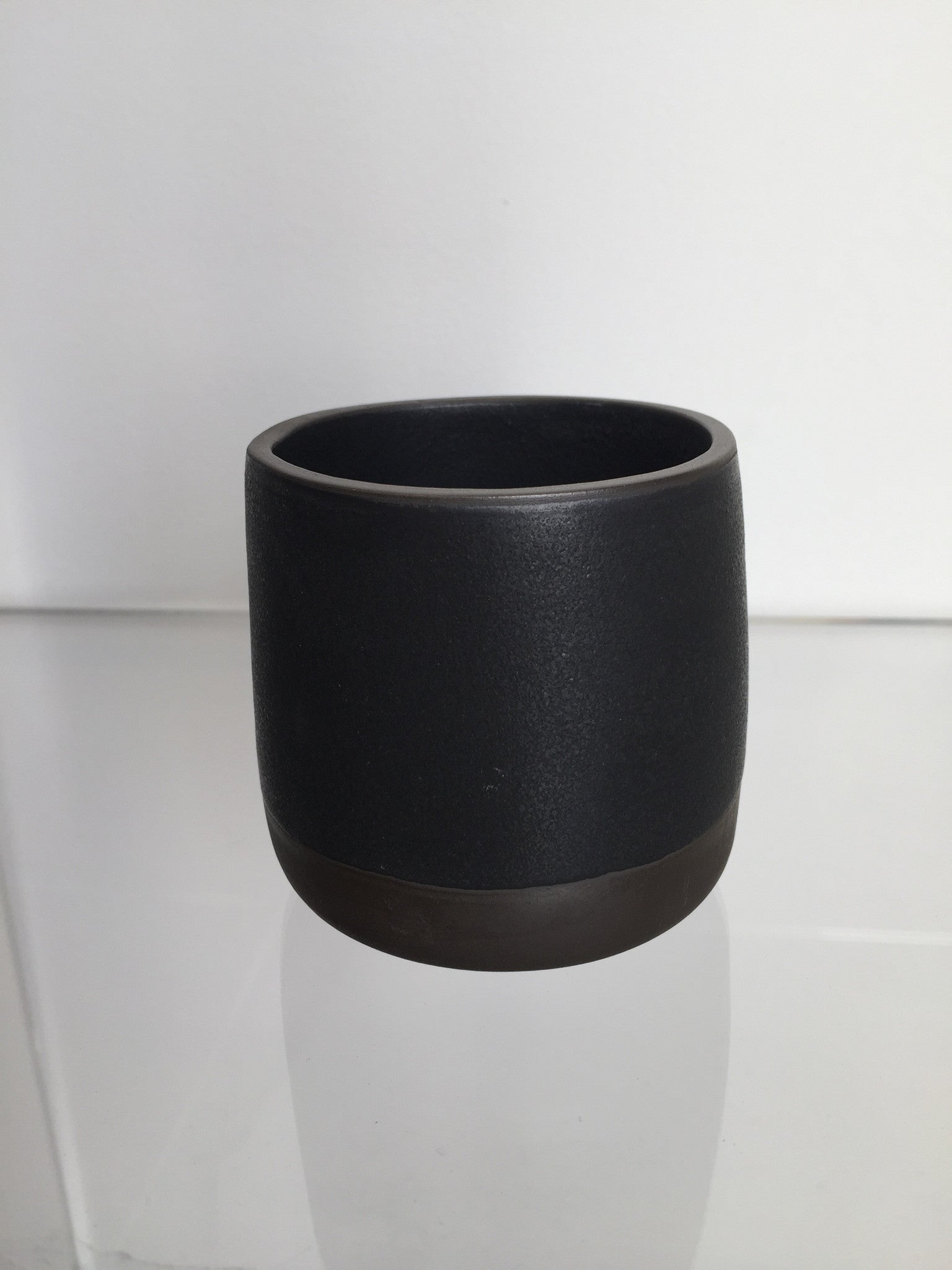 Robert Siegel Studio Black Porcelain Tumblers