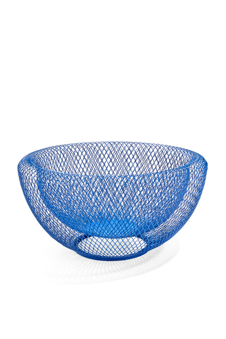 MOMA Blue Wire Mesh Bowl