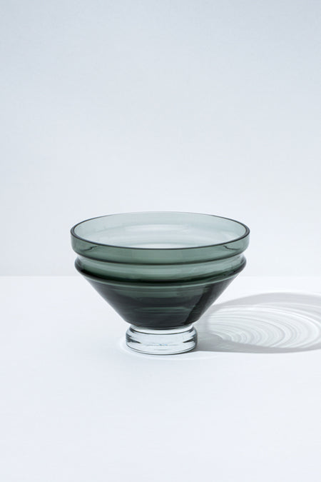Moma Raawii Grey Small Glass Bowl