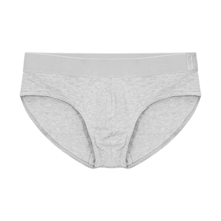 Bread and Boxers Grey Melange Brief
