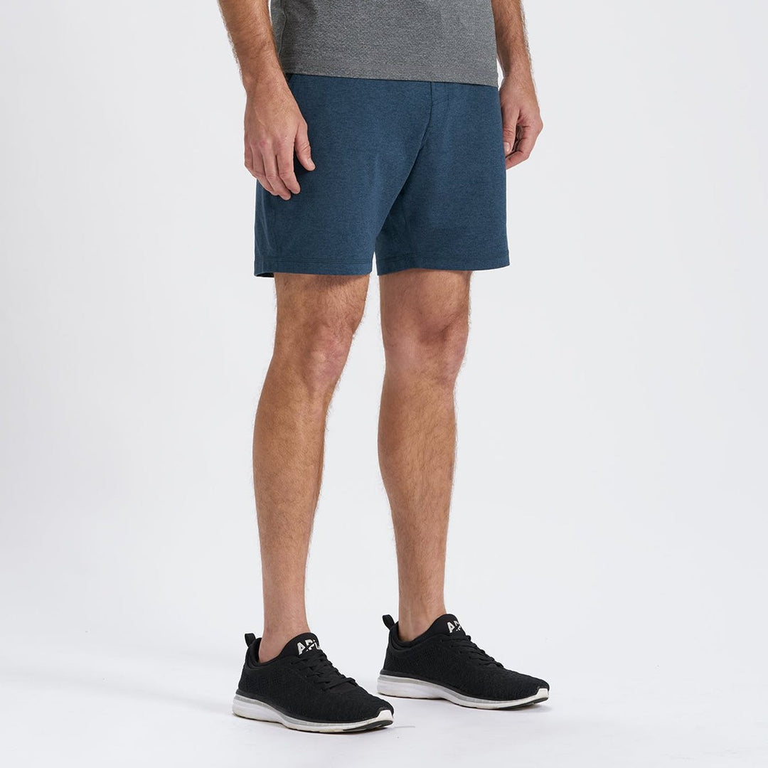 Vuori Ponto Indigo Heather Performance Short