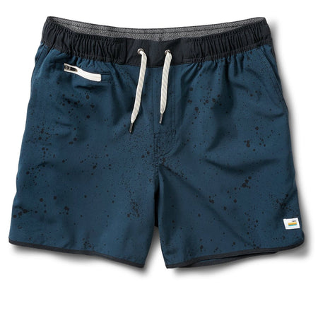"Vuori Indigo Splatter 5"" Banks Short"