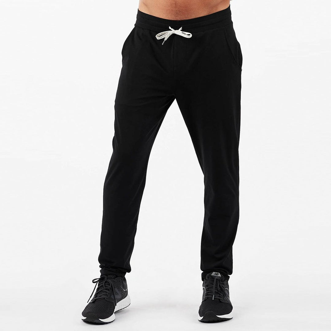 Vuori Black Ponto Performance Sweatpant