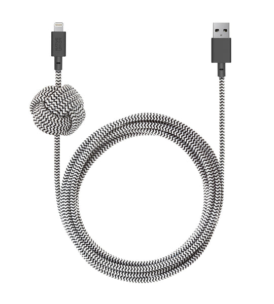 Native Union Zebra Lightning Night Cable
