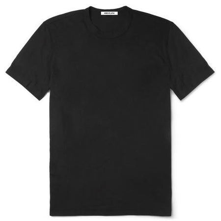 Hiro Clark Combed Cotton Black Tee