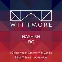 Wittmore Hashish Fig Candle